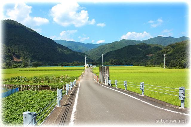高知県四万十川流域の風景