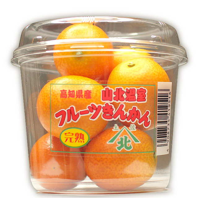 高知県産・完熟・山北温室フルーツきんかん