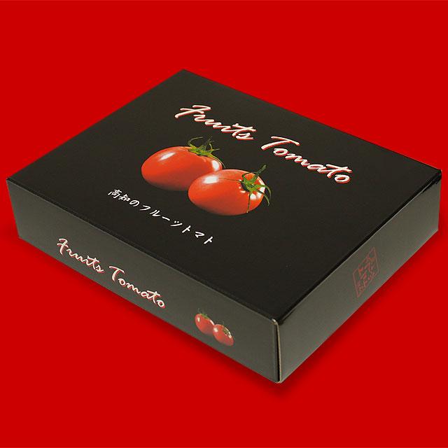 黒塗りフルーツトマト専用化粧箱(汎用)