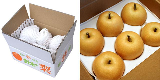 美味しい八達梨と豊水梨のセット・クール冷蔵便・送料無料
