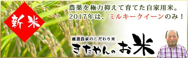 きたやんのお米(ミルキークイーン・高知県産)