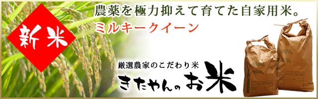 お米(ミルキークイーン・高知県産)
