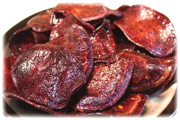 黒潮物産・芋チップス・むらさきいも(紫芋)チップ