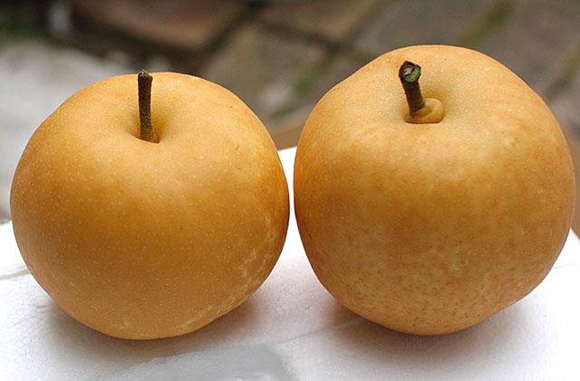 幸水(こうすい)・木なり完熟の梨(なし)です