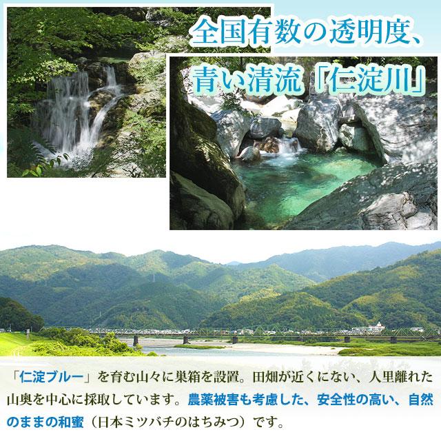 国内でも有数の清流、仁淀川流域は、日本ミツバチにとって良好な環境です。