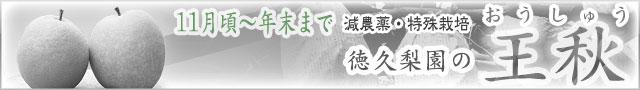 王秋(おうしゅう)梨