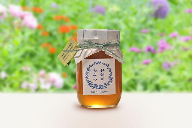 ニホンミツバチの蜂蜜(和蜜)・「仁淀川わみつ」・約550g